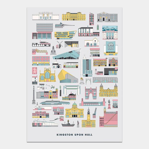 Kingston Upon Hull Art Print