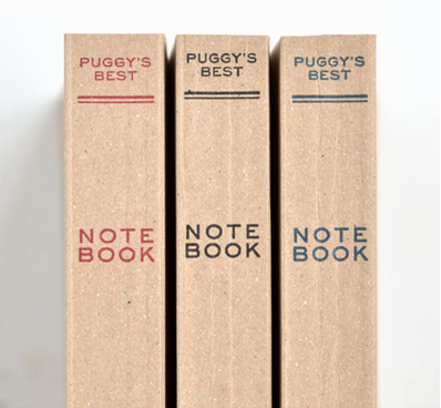 Puggy's Paperback Notebook
