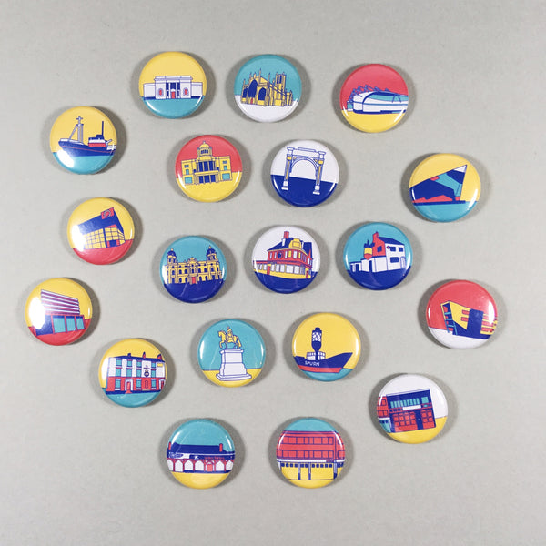 Hull Buildings Badges