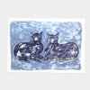 Staffordshire Pottery Cats