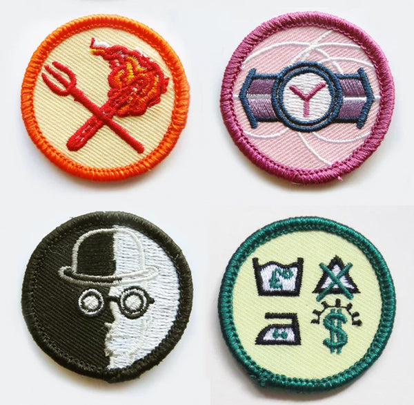 Alternative Scouting Merit Patches