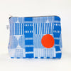 Flat Base Pouch in Levels Print