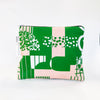 Flat Pouch in Shapes Print