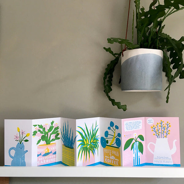 House Plants Concertina