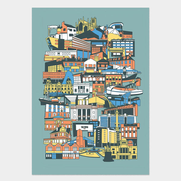 Hull Buildings Art Print