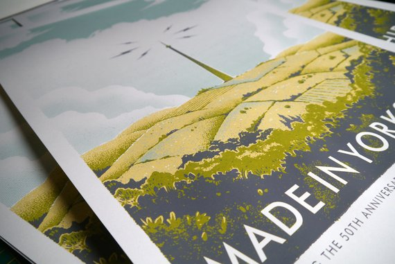 Made in Yorkshire screenprint