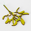 Mistletoe Wooden Decoration