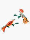Paradise Bird Obi Wall Decoration
