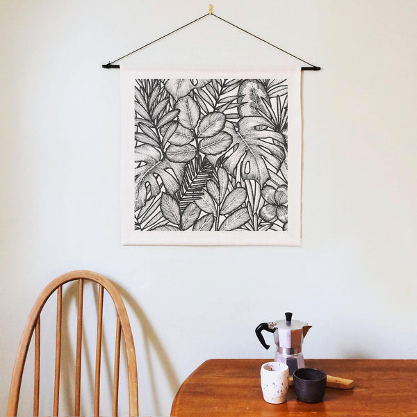 Palm House Cotton Wall Hanging