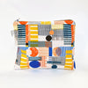 Flat Pouch in Multicolour Play Print