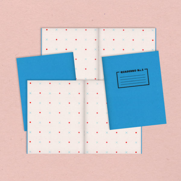 Quaderno Notebook No.5 - Pattern Paper