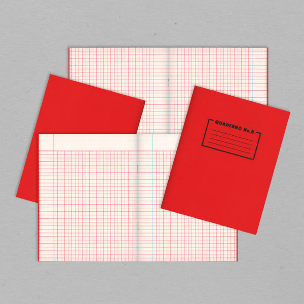 Quaderno Notebook No.8 - Mathematics Grid