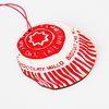 Scottish Teacake Wooden Decoration