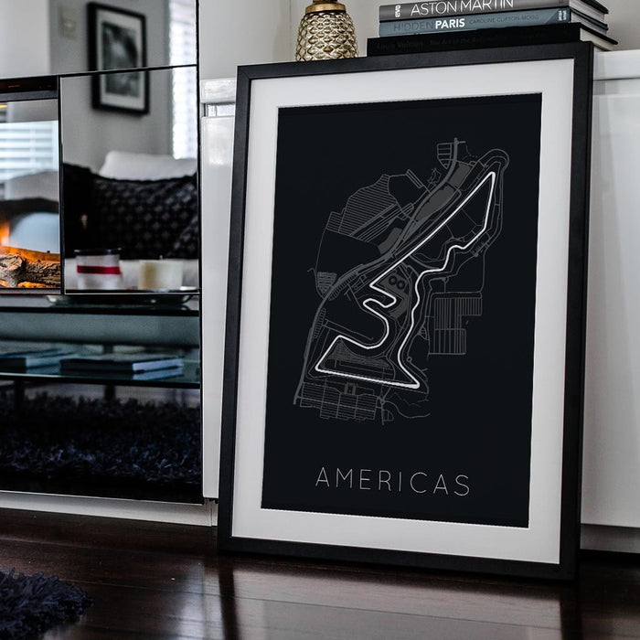 Circuit of the Americas Framed Poster
