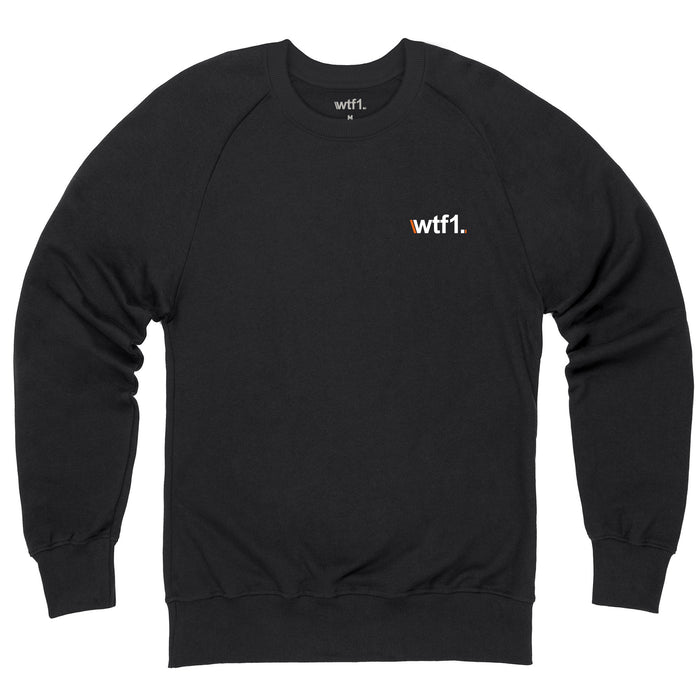 WTF1 Embroidered Logo Sweatshirt