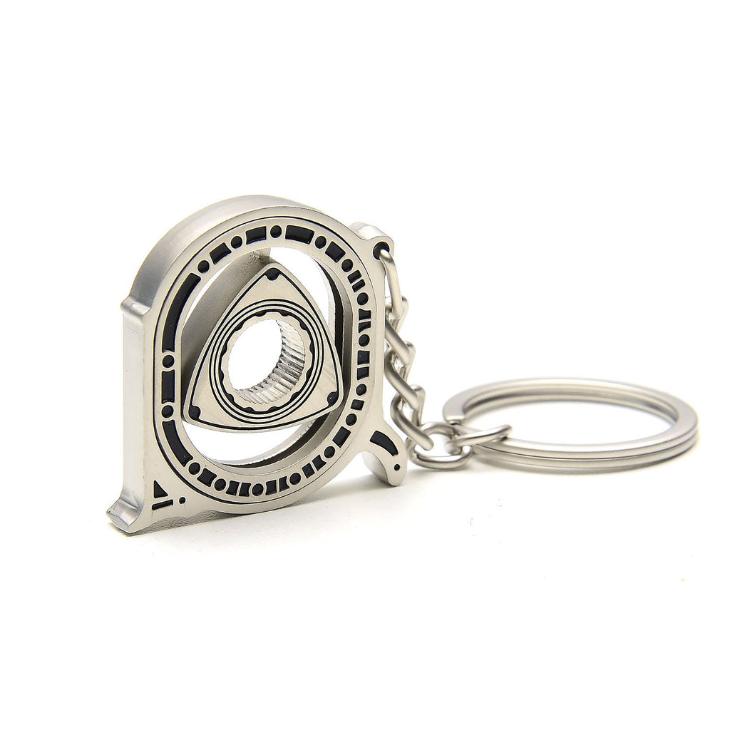 Moving Rotary Keychain
