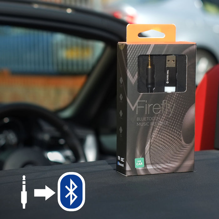 FIREFLY: World's Smallest Car Bluetooth Receiver
