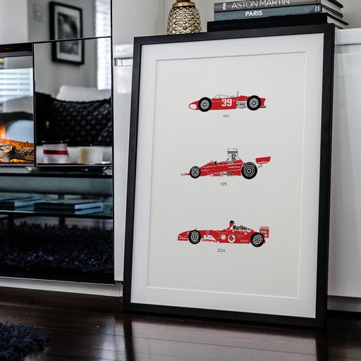 There is Only One Formula – Ferrari F1 Framed Poster