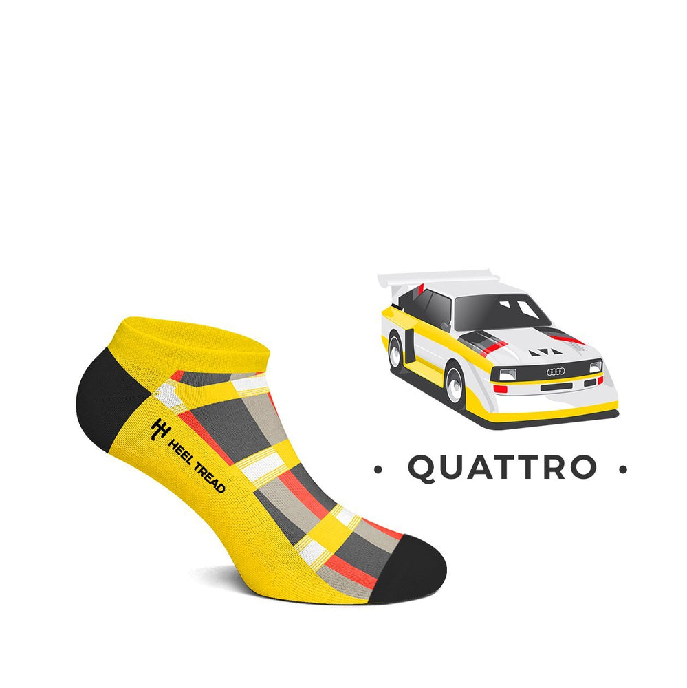 Audi Quattro Low Socks