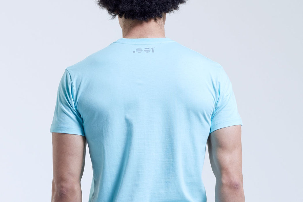 .001 Mens Logo T-Shirt - English Blue