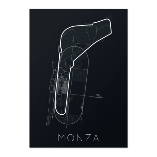 Full -Throttle Formula 1 – Monza Unframed Poster
