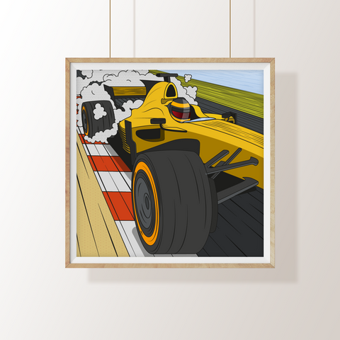 F1 Pop Art Print II
