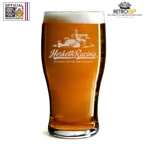 Official Hesketh Racing Pint Glass