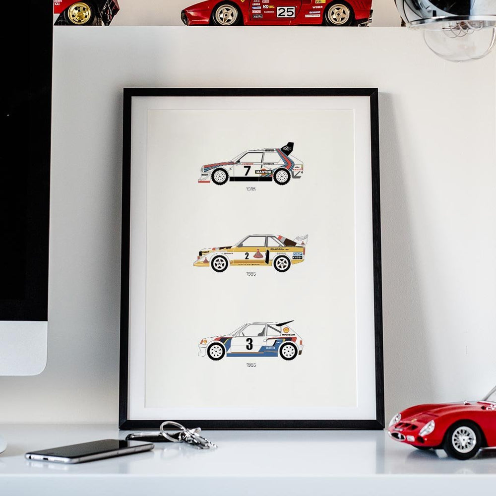 A Tribute to Rally B – Group B Framed Poster