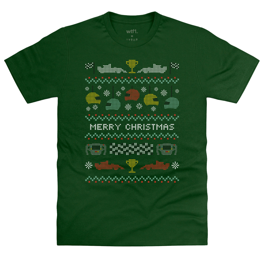 Racing Christmas T-Shirt