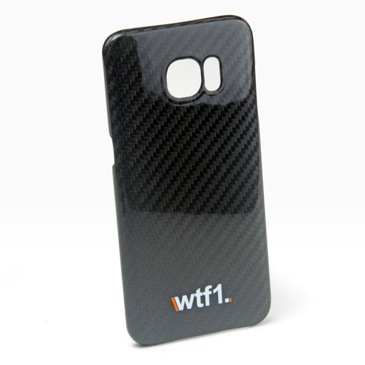 WTF1 Samsung S7 Edge Gloss Carbon Fibre case