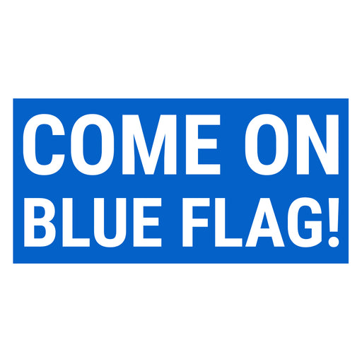Blue Flag Sticker