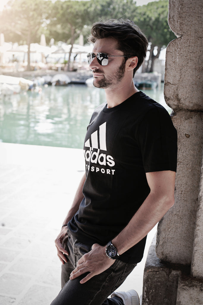 Adidas Motorsport T-shirt - Black/White