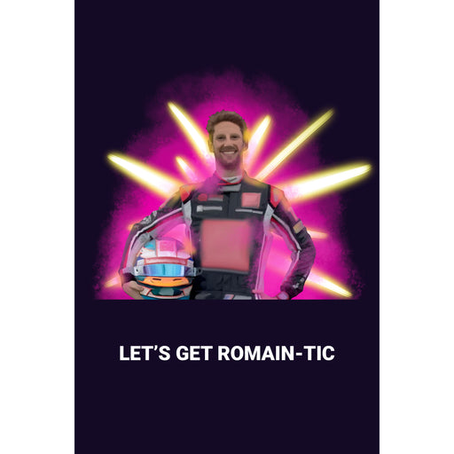 Romain-tic Greetings Card