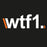WTF1 Logo Sticker