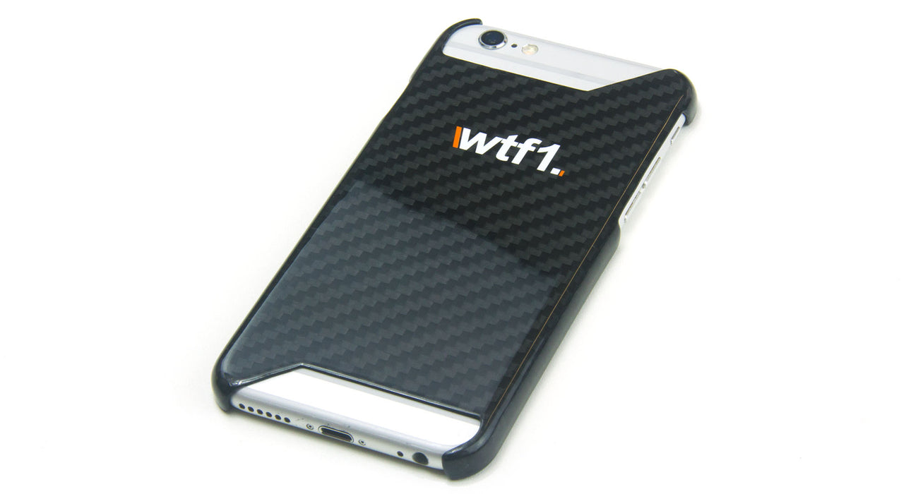 WTF1 iPhone 7 Gloss Carbon Fibre Case