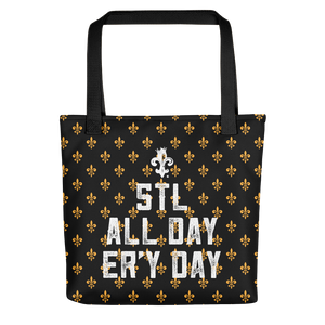 STLWF Er'y Day Black Tote