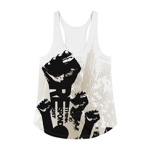 Politically Direct Resist Women's Racerback Tank