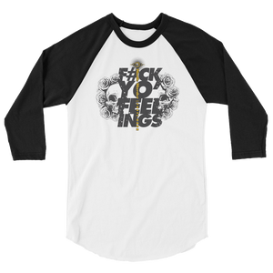 Hustle Harder Feelings Raglan