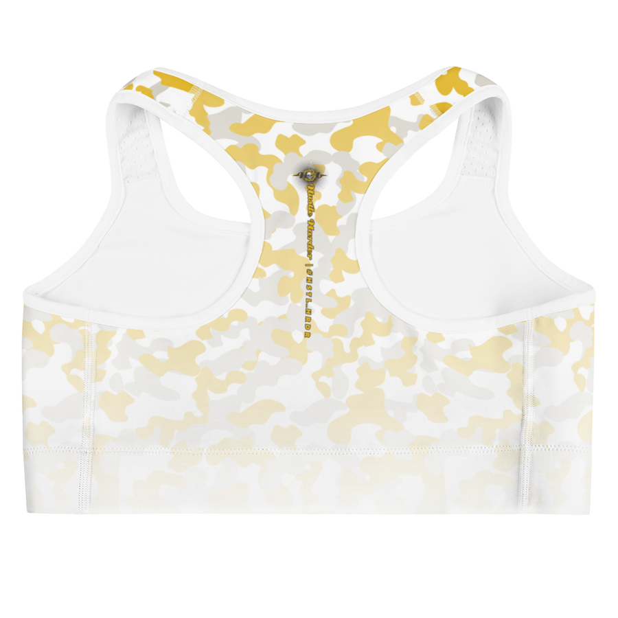 Hustle Harder Camo Sports Bra