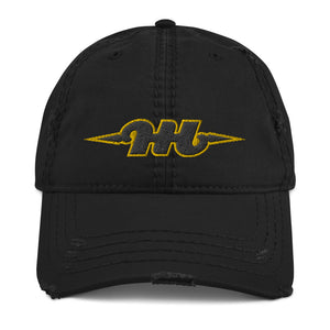 Hustle Harder Distressed Cap