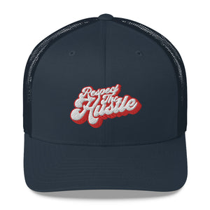 W4H Respect The Hustle Trucker Cap