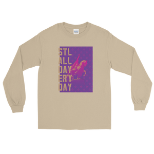 STLWF Er'y Day Pink/Purple Long Sleeve Tee