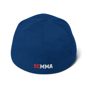 SCMMA Logo Patriot Flexfit