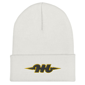 Hustle Harder Cuffed Beanie