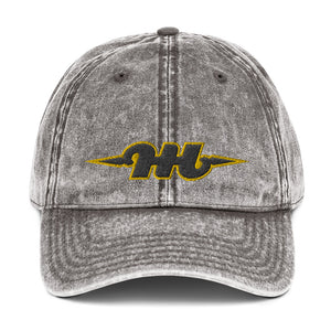 Hustle Harder Vintage Cotton Twill Cap