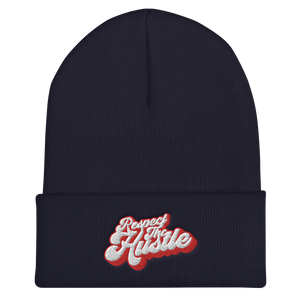 W4H Respect The Hustle Cuffed Beanie