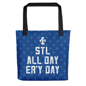 STLWF Er'y Day Blue  Tote