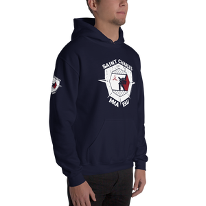 SCMMA Cage Heavy Blend Hoodie w/Patch