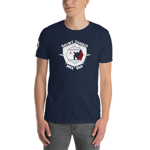 SCMMA Patriot Cage Crest w/Patch Tee