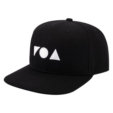 FOA SNAPBACK BLACK ON BLACK